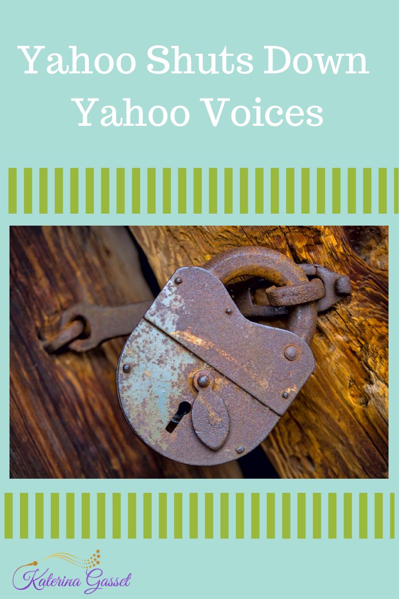 Yahoo Shuts Down Yahoo Voices Contributors