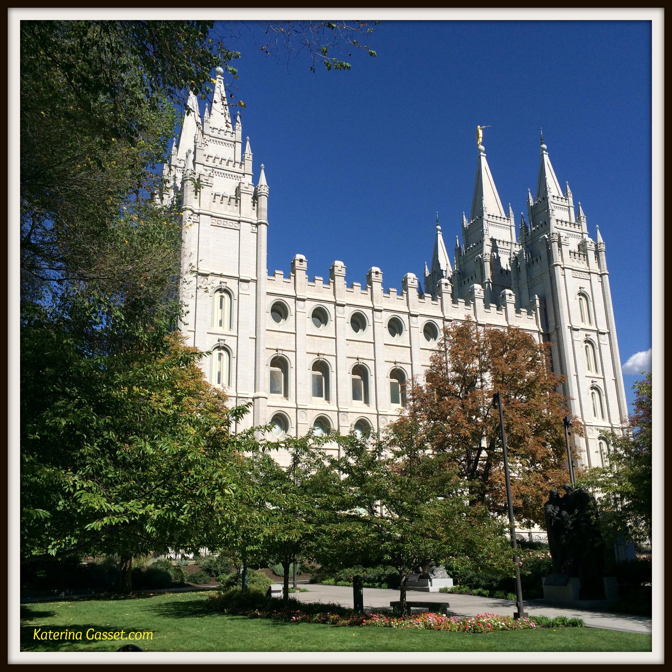Salt Lake Temple Gasset Family