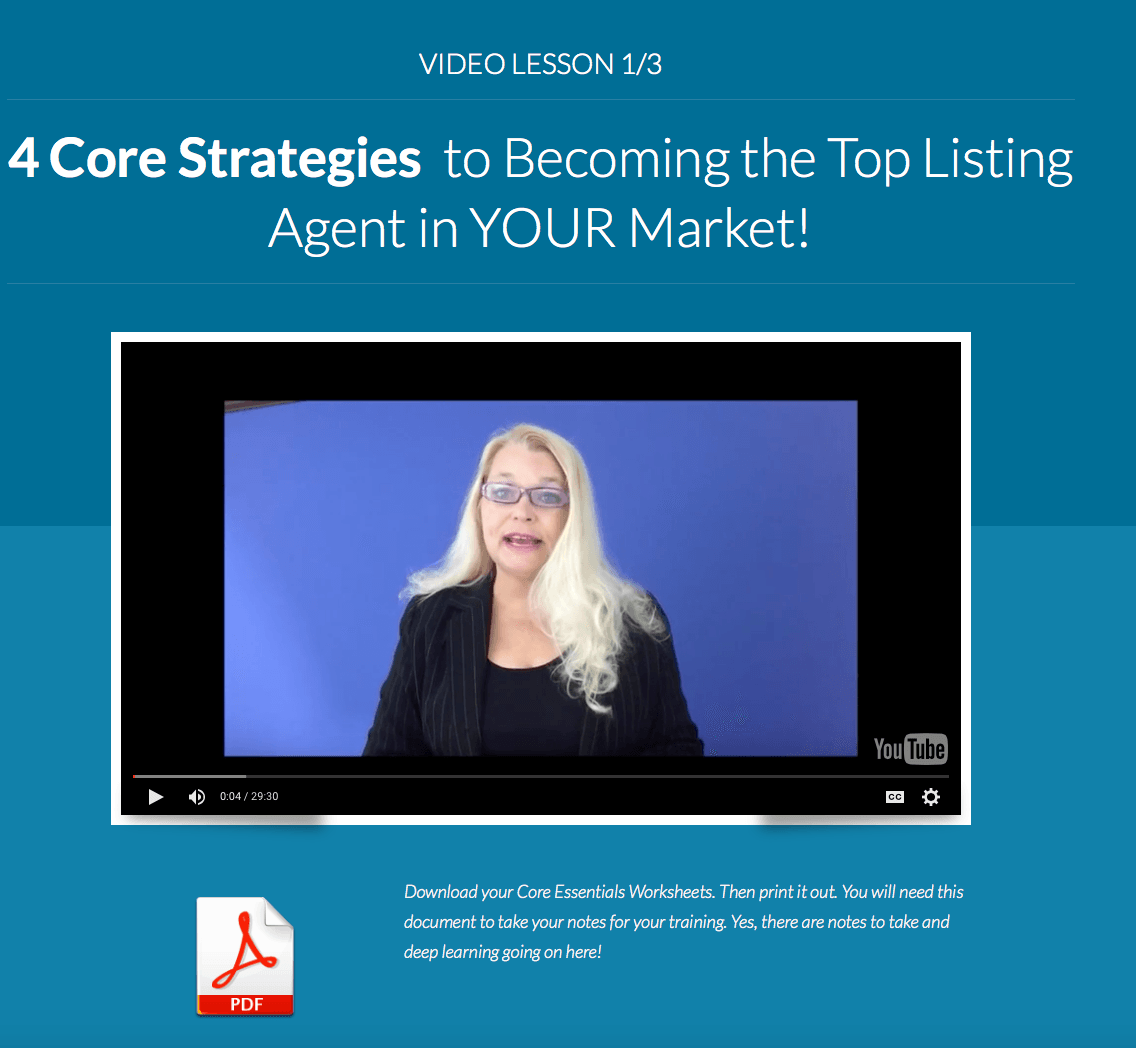 Listing Experts Academy Real Estate agent training | Katerina Gasset